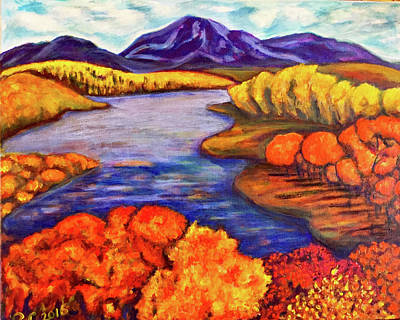 Painting - Autumn Hues by Rae Chichilnitsky