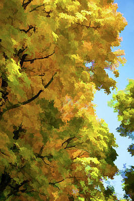 Asphalt Digital Art - Autumn I by Art Spectrum
