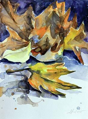 Painting - Autumn II by Nedko  Nedkov
