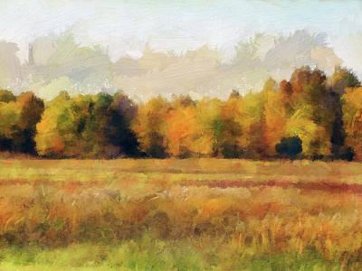 Photograph - Autumn Impression 2 by Cedric Hampton