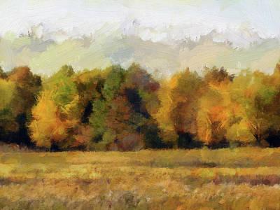 Photograph - Autumn Impression 4 by Cedric Hampton