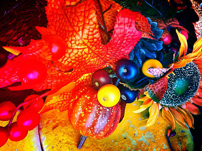 Digital Art - Autumn Impression by Christian Rutz