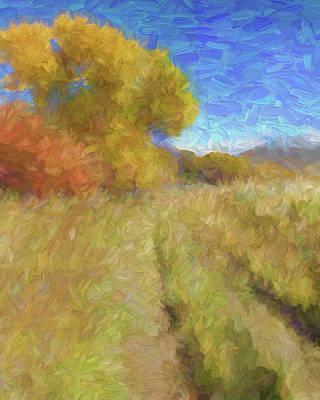 Digital Art - Autumn Impression by David King