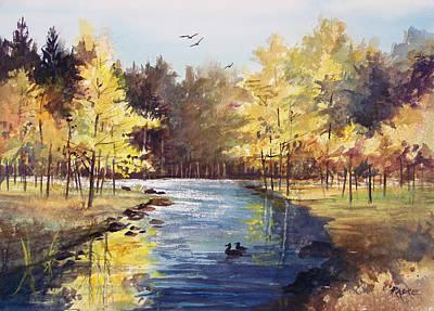 Painting - Autumn Impressions by Ryan Radke
