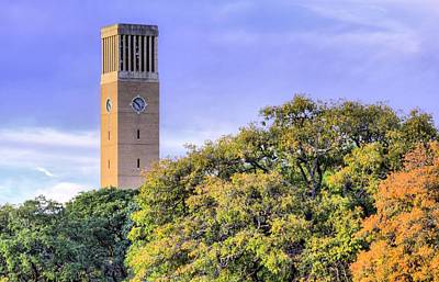 Photograph - Autumn In Aggieland by JC Findley