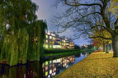 Autumn In Amstelveen Art Print
