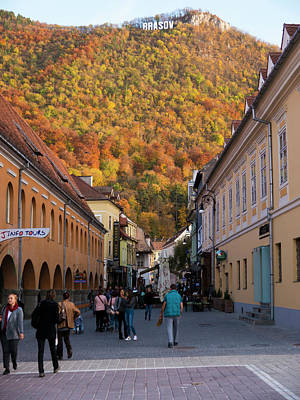 Photograph - Autumn In Brasov by Rae Tucker