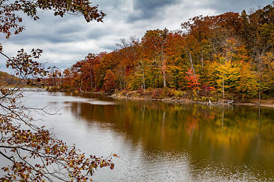 Photograph - Autumn In Brown County by Ron Pate
