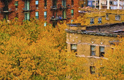Photograph - Autumn In Chicago by Ginger Wakem