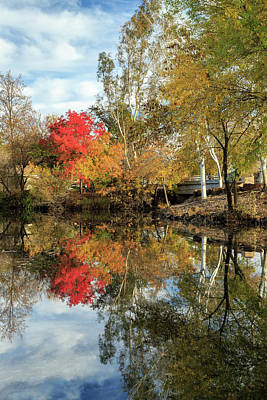 Photograph - Autumn In Chico by James Eddy