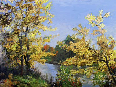 Painting - Autumn In Coventry by Donna Walsh