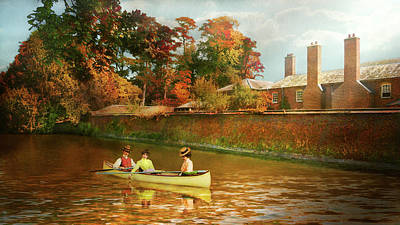 Massey Hall Wall Art - Photograph - Autumn In England by Mike Savad - Abbie Shores