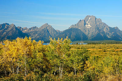 Photograph - Autumn In Grand Teton National Park by Ram Vasudev