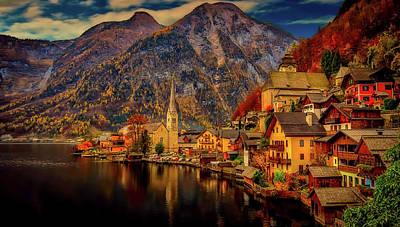 Photograph - Autumn In Hallstatt by Pixabay