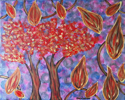 Painting - Autumn In Heaven by Gina Nicolae Johnson