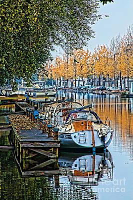 Autumn In Holland-2 Art Print