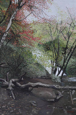 Painting - Autumn In Japan by Masami Iida