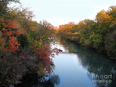 Photograph - Autumn In Layers - Austin by Felipe Adan Lerma