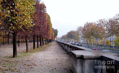 Photograph - Autumn In Layers - Paris by Felipe Adan Lerma