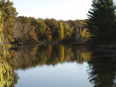 Art Print featuring the photograph Autumn In Mears Michigan by Tara Lynn