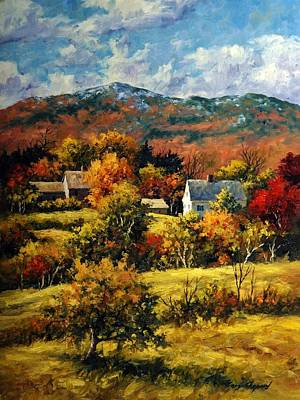 Mt. Monadnock Painting - Autumn In Monadnock by Gary Shepard