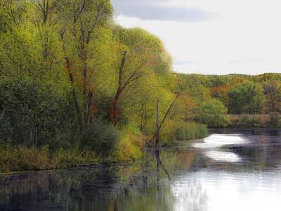 Photograph - Autumn In Monee by Cedric Hampton