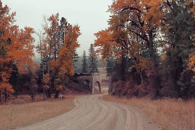 Autumn In Montana Art Print