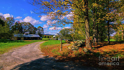 Photograph - Autumn In Montpelier by Scenic Vermont Photography