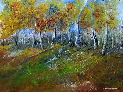 Painting - Autumn In My Country by Elizabeth Kendall