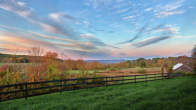 Photograph - Connecticut Country Autumn by Bill Wakeley