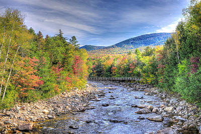 Photograph - Autumn In New Hampshire by Don Mercer