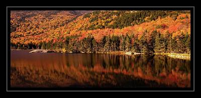 Photograph - Autumn In New Hampshire by Sherman Perry