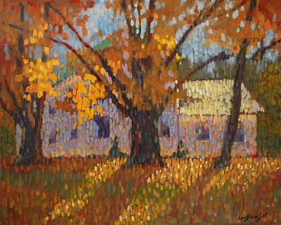 Painting - Autumn In New York by Len Stomski