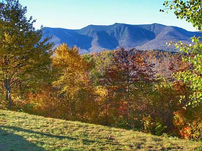 Photograph - Autumn In Nh by Anne Sands