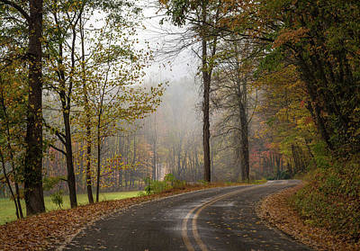 Photograph - Autumn In North Carolina by Lee Coursey
