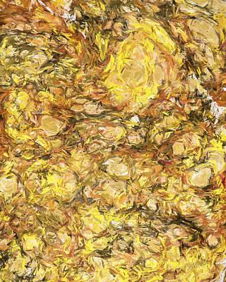 Oak Creek Digital Art - Autumn In Oak Creek Canyon by Robert Albrecht