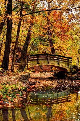 Glen Echo Park Photograph - Autumn In Ohio by David Kelso