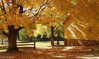 Photograph - Autumn In Old Salem by Matt Taylor