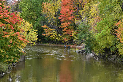 Photograph - Autumn In Ontario by Keith Boone