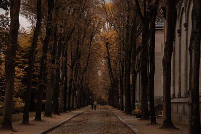 Autumn In Paris 1 Art Print