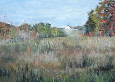 Painting - Autumn In Pennsylvania by Paula Pagliughi