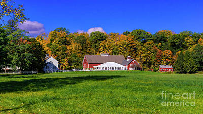 Photograph - Autumn In Quechee. by Scenic Vermont Photography