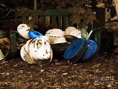 Primitive Photograph - Autumn In Rural America  by Steven Digman