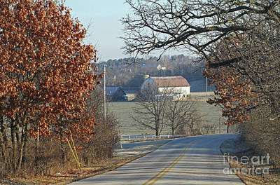 Photograph - Autumn In Rural Wisconsin by Kevin McCarthy