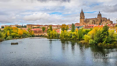 Photograph - Autumn In Salamanca by JR Photography