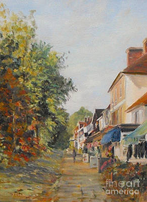 Painting - Autumn In Tenterden Kent by Beatrice Cloake