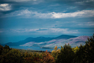 Photograph - Autumn In The Adirondacks by Sara Frank