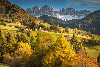 Photograph - Autumn In The Alps by Stefano Termanini
