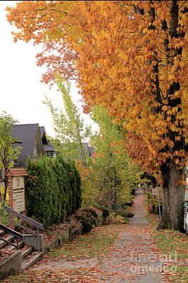 Autumn In The City Art Print