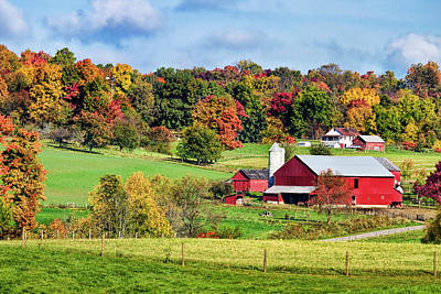 Rural Photograph - Autumn In The Country by Marcia Colelli